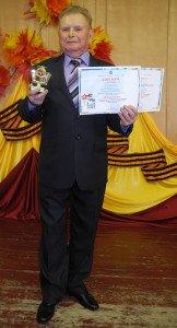 Скворцов ВП занял 1 место в номин Авторское чтение
