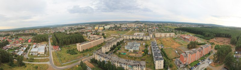 Панорама Сысерти 2012