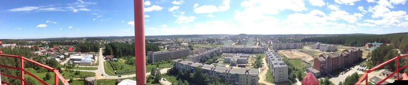 Панорама Сысерти 2014